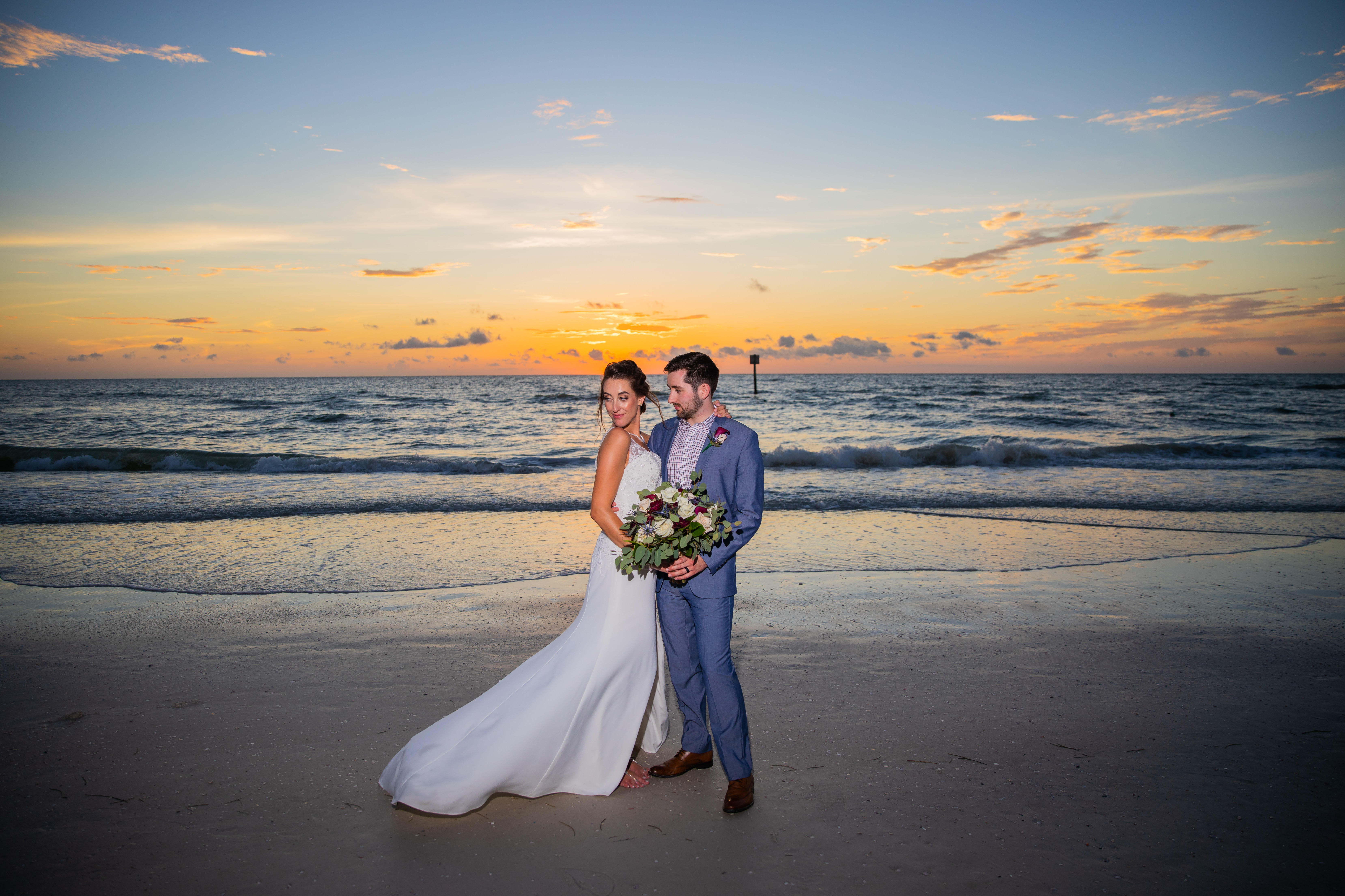 Hilton clearwater beach wedding photography sunset wedding photos beach wedding ideas